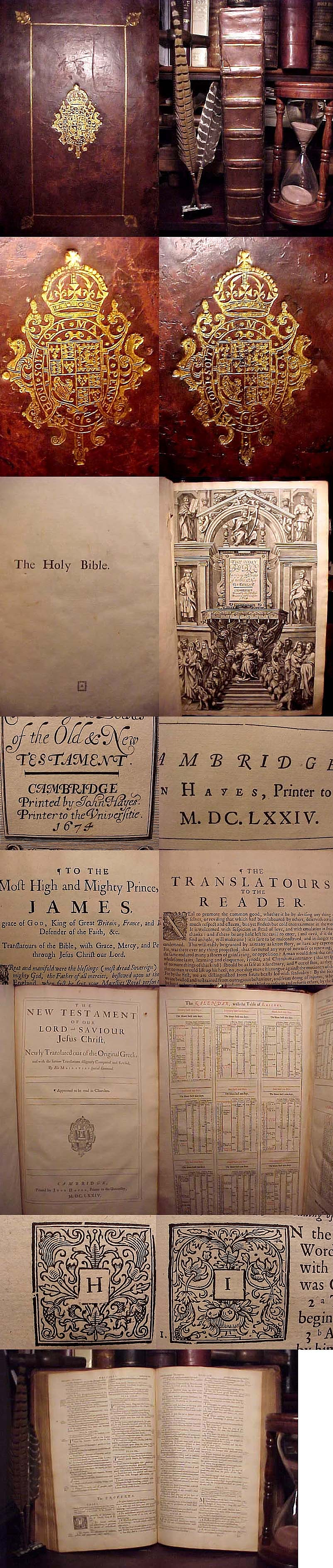 """King James Bible included so called """"Apocryphal"""" Books"""